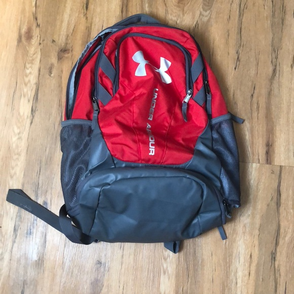 Under Armour Bags   Under Armor Backpack With Side Waterpockets ... 5b00f8c9d1